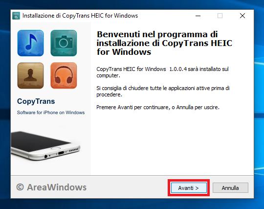 Come visualizzare i file  heic – AreaWindows